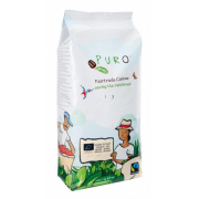 Káva Fairtrade Puro Dark roast zrnková 1kg