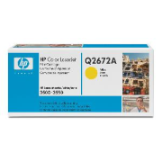 Toner HP q2672a, yellow
