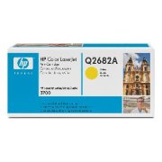 Toner HP q2682a, yellow  3700