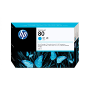 Atrament HP C4846A cyan No.80