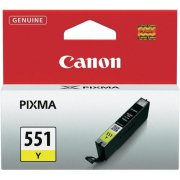 Atrament Canon CLI-551 Y yellow MG5450/6350, iP7250