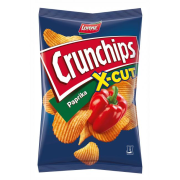 Crunchips X-cut paprika 85g